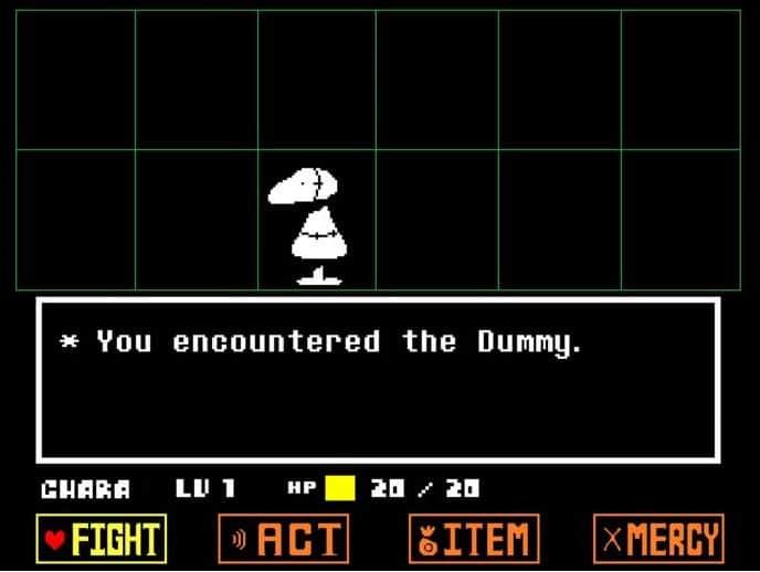 undertale-dummy