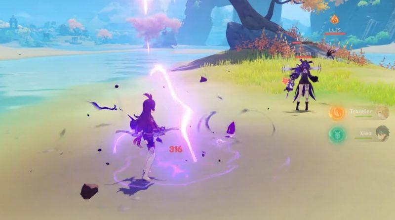 genshin impact closed beta gameplay