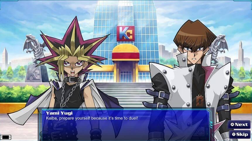 Yugioh! Legacy of the Duelist Scene