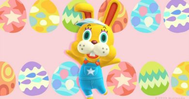 Animal crossing Bunny Day Egg