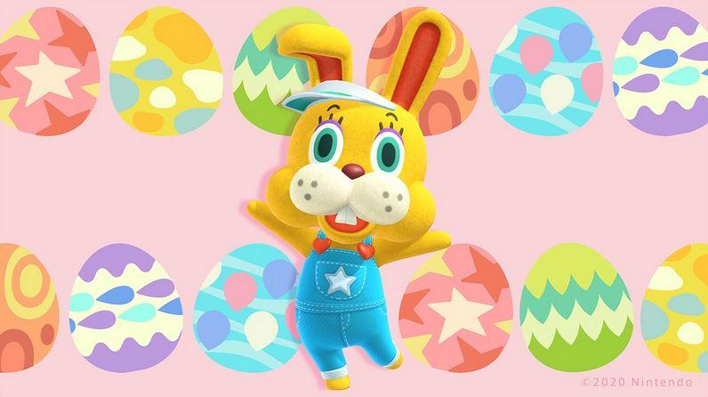 Animal crossing Bunny Day Egg