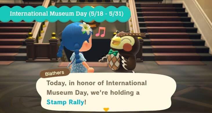 Animal Crossing International Museum Event