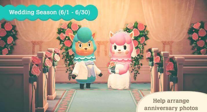 Animal Crossing Wedding Season Event