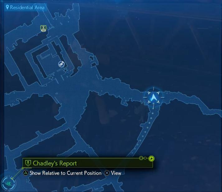Final Fantasy 7 Lost Friends Cat 1 map