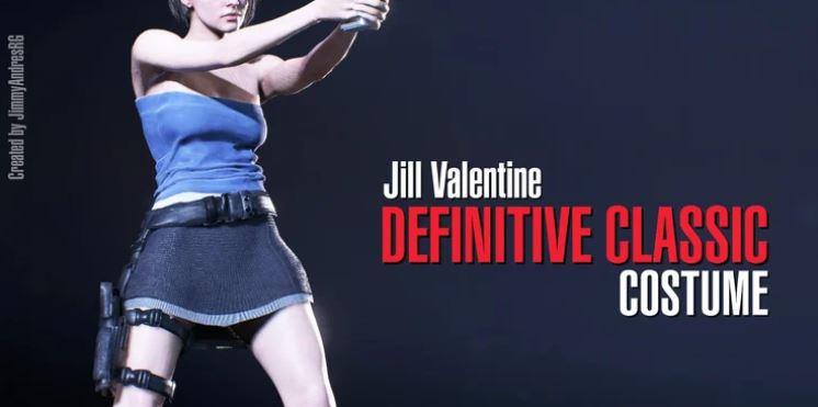 Resident Evil 3 Alternate Jill Costums Mod