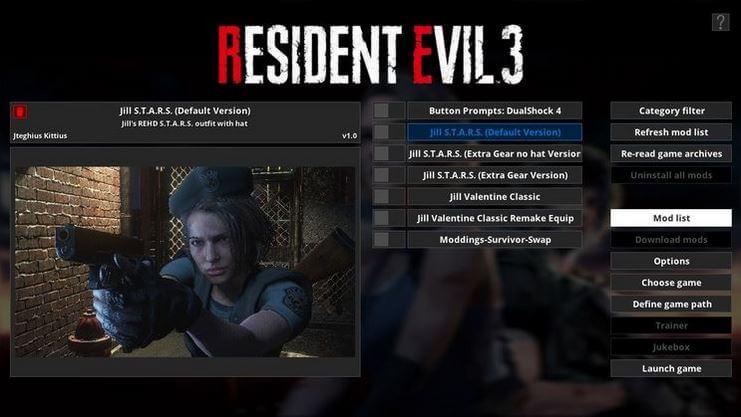 Resident evil 3 fluffy mod 5000