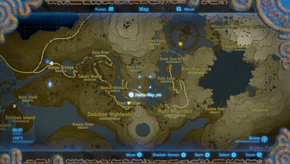 zelda-BOTW-reach-zoras-domain-map