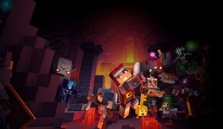 Minecraft Dungeon cover Photo