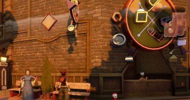 Kingdom Hearts 3 Lucky Emblem 1 - Twilight Town