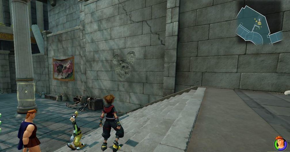 Kingdom Hearts 3 Lucky Emblem 1 - Olympus
