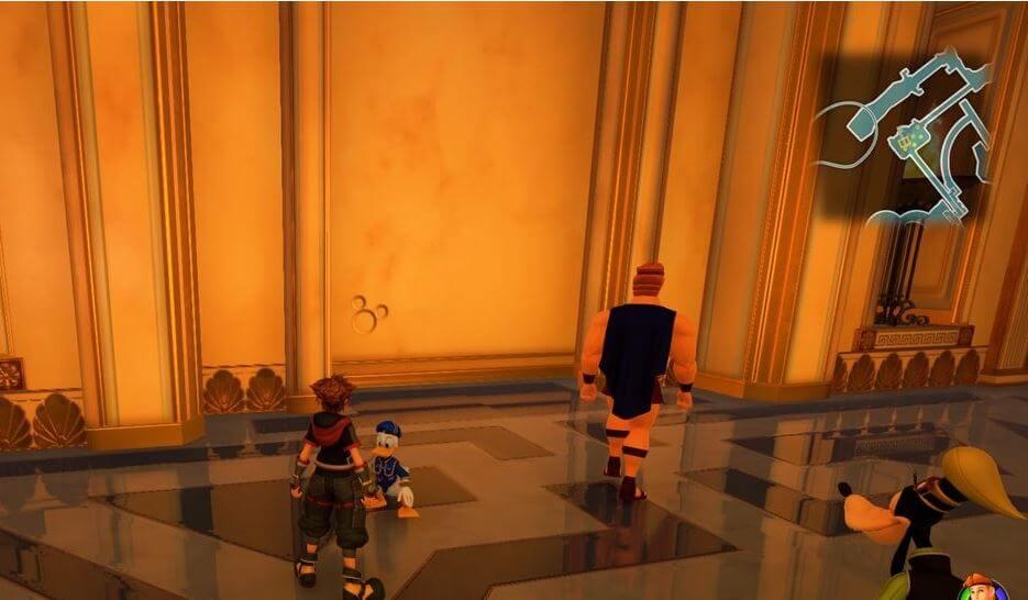 Kingdom Hearts 3 Lucky Emblem 10 - Olympus