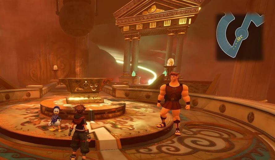 Kingdom Hearts 3 Lucky Emblem 11 - Olympus