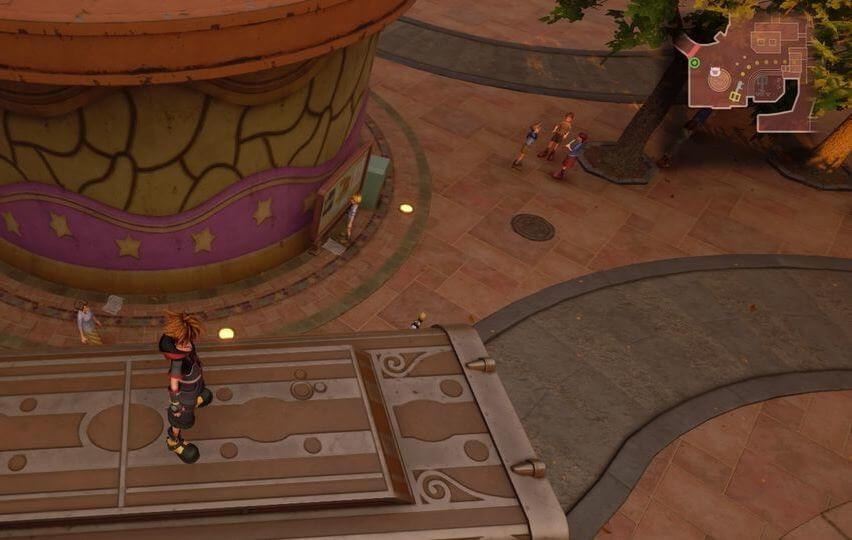 Kingdom Hearts 3 Lucky Emblem 2 - Twilight Town