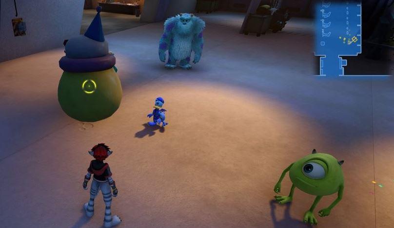 Kingdom Hearts 3 Lucky Emblem 2 - Monstropolis
