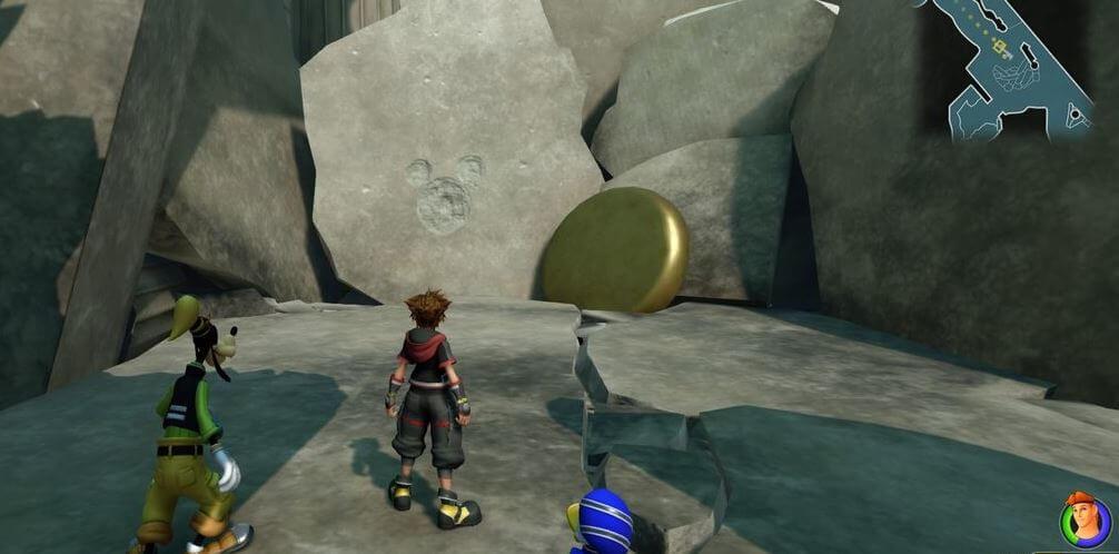 Kingdom Hearts 3 Lucky Emblem 2 - Olympus