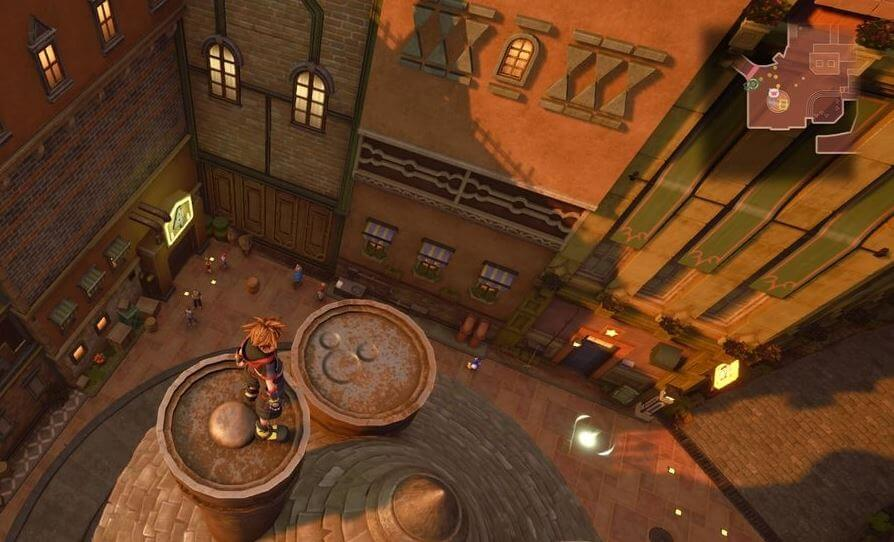 Kingdom Hearts 3 Lucky Emblem 3 - Twilight Town