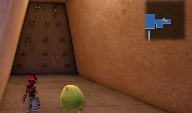 Kingdom Hearts 3 Lucky Emblem 3 - Monstropolis