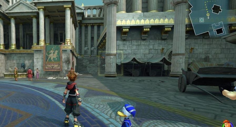 Kingdom Hearts 3 Lucky Emblem 3 - Olympus
