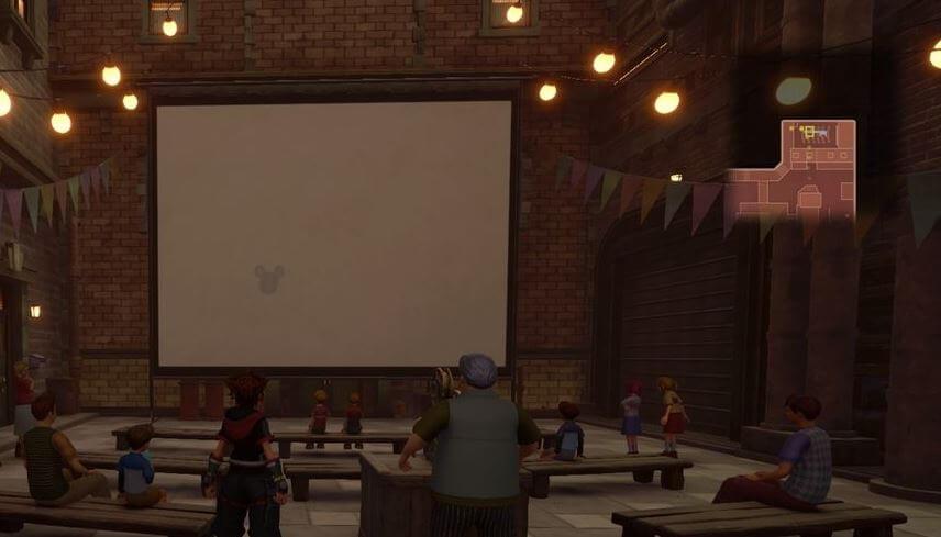 Kingdom Hearts 3 Lucky Emblem 4 - Twilight Town