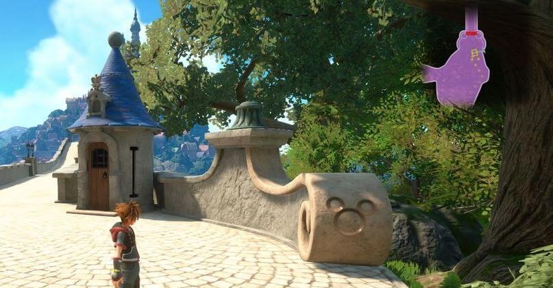 Kingdom Hearts 3 Lucky Emblem 4 - Kingdom of Corona