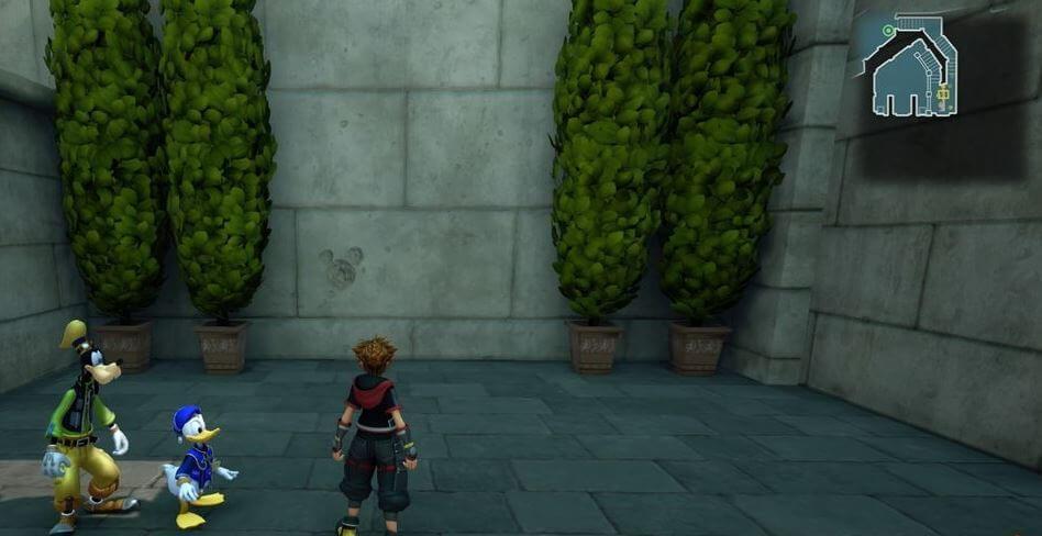 Kingdom Hearts 3 Lucky Emblem 4 - Olympus