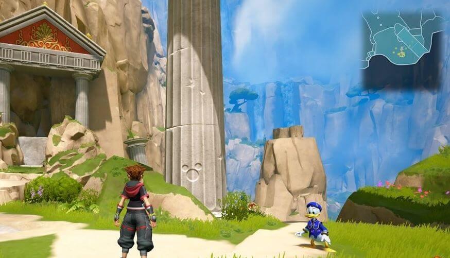 Kingdom Hearts 3 Lucky Emblem 5 - Olympus