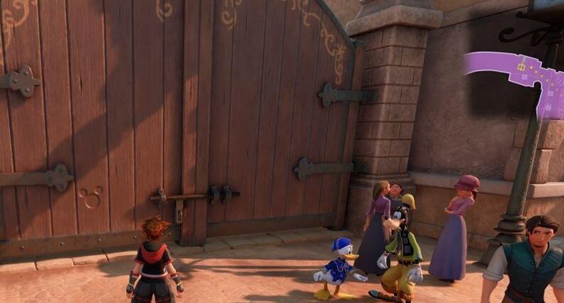 Kingdom Hearts 3 Lucky Emblem 6 - Kingdom of Corona