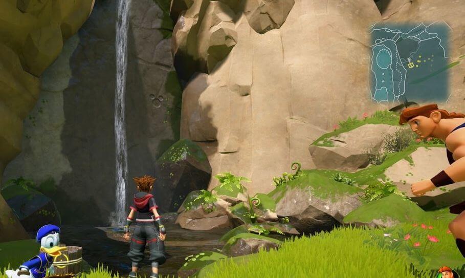 Kingdom Hearts 3 Lucky Emblem 6 - Olympus