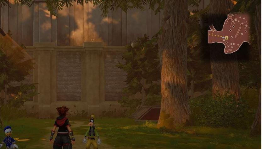 Kingdom Hearts 3 Lucky Emblem 7 - Twilight Town