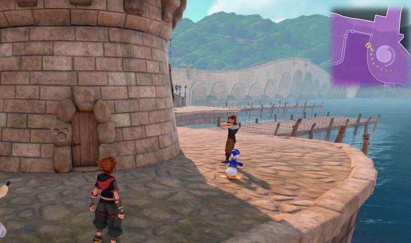 Kingdom Hearts 3 Lucky Emblem 7 - Kingdom of Corona