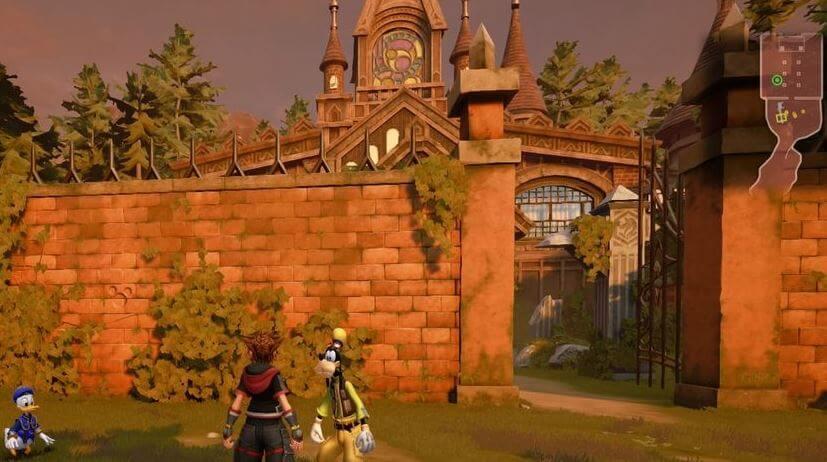 Kingdom Hearts 3 Lucky Emblem 9 - Twilight Town