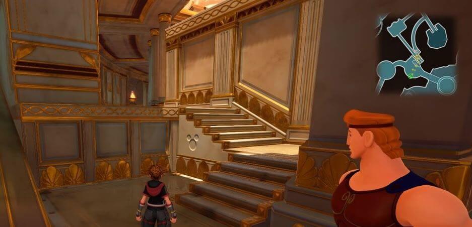 Kingdom Hearts 3 Lucky Emblem 9 - Olympus
