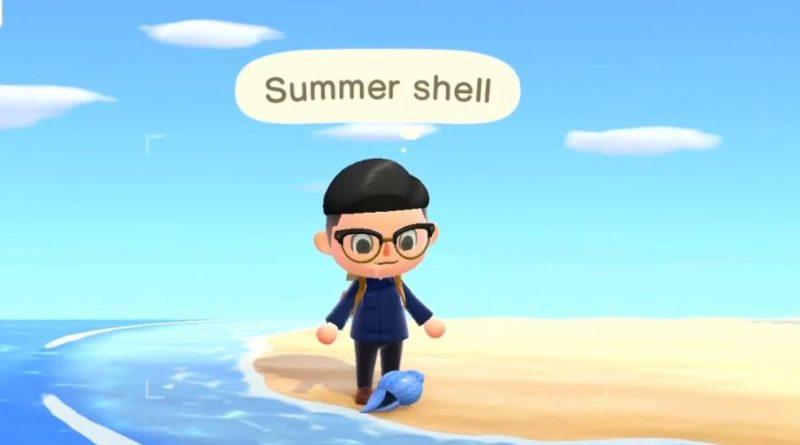 Animal Crossing New Horizons Summer Shell