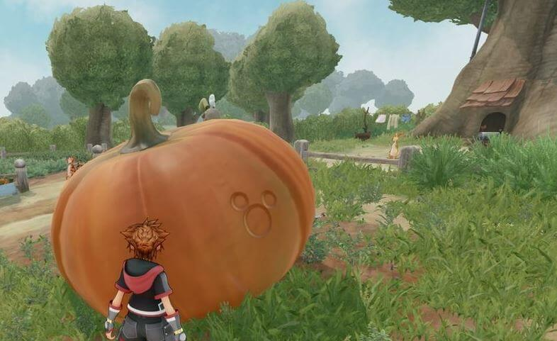 Kingdom Hearts 3 Lucky Emblem 2 - The Hundred Acre Wood