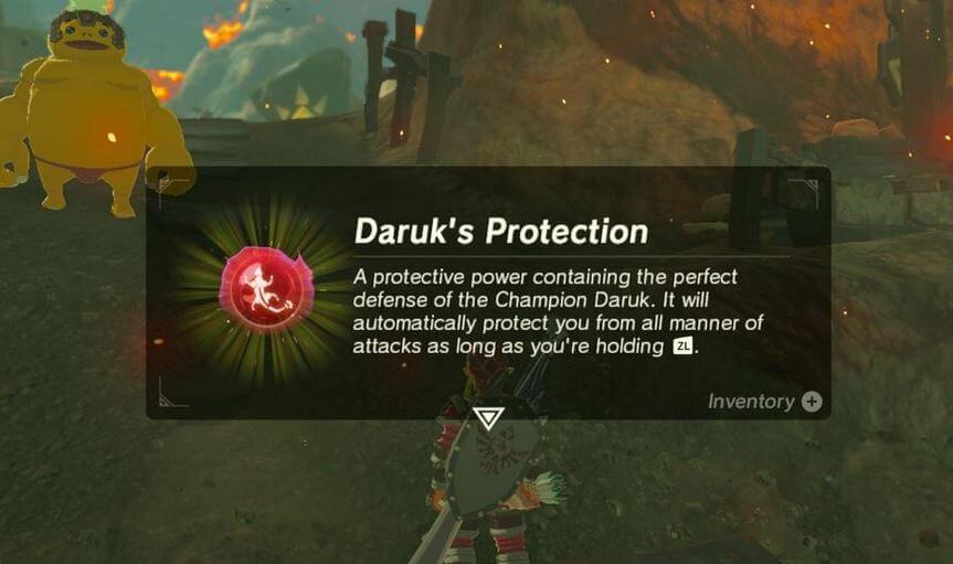 Daruk Protection Vah Ruta Dungeon