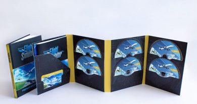 Flight Simulator PC disk
