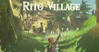 Ritto Village Zelda Berath of the Wild