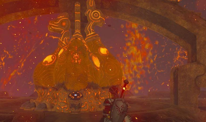Waterblight Ganon Terminal Masuk - Zelda Breath of the Wild