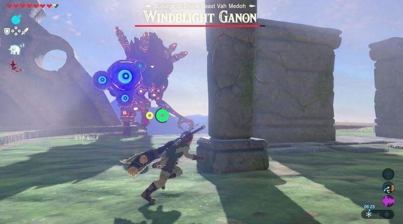 Cara mengalahkan WIndblight Ganon