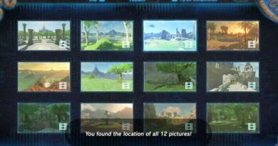 Captured Memories Zelda Breath of The Wild List