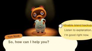 Animal Crossing : Cara Backup Island, Auto saving & Save Transfer