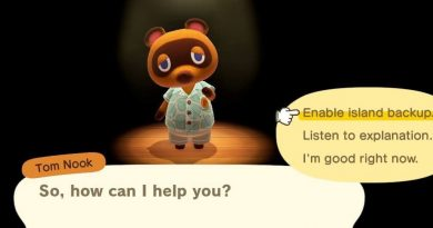Animal Crossing cara Backup Island pada animal crossing