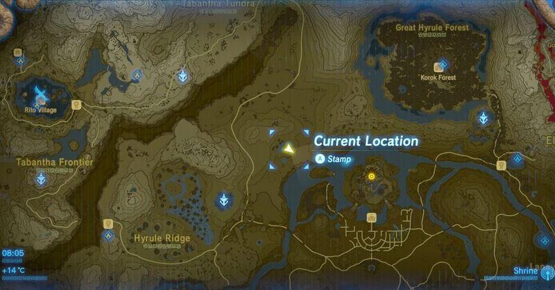 Zelda Breath Of The Wild Captured Memories Lokasi Guide Lengkap