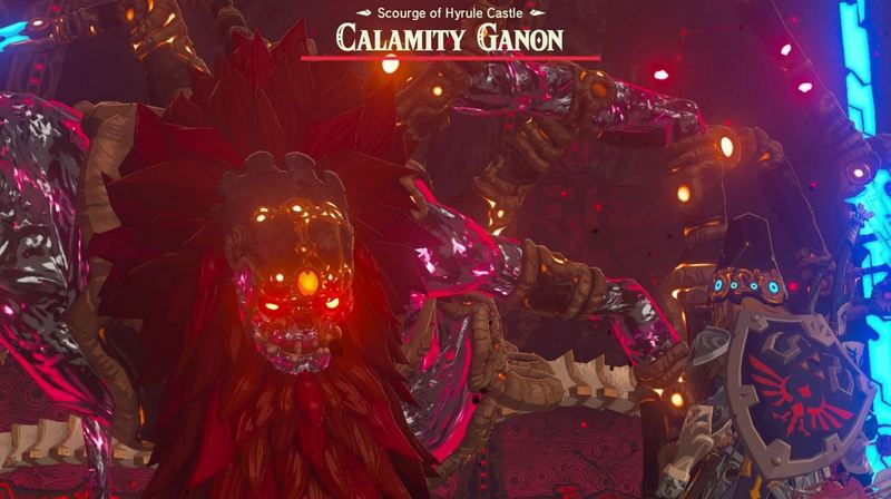 Zelda Breath of The Wild Calamity Ganon