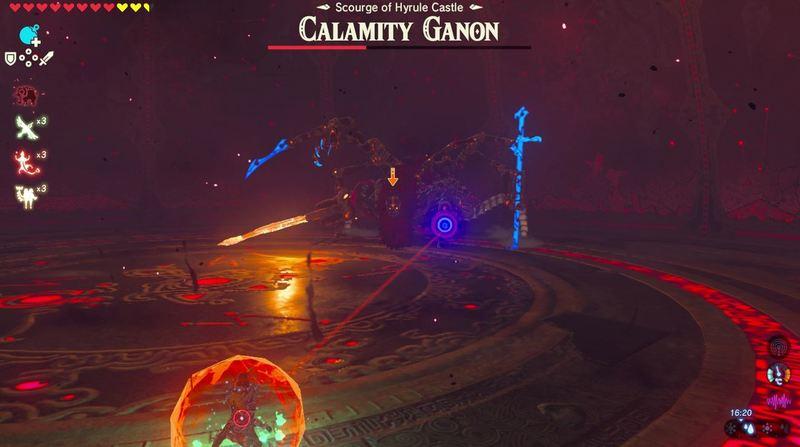 Zelda Breath of The Wild Calamity Ganon 2