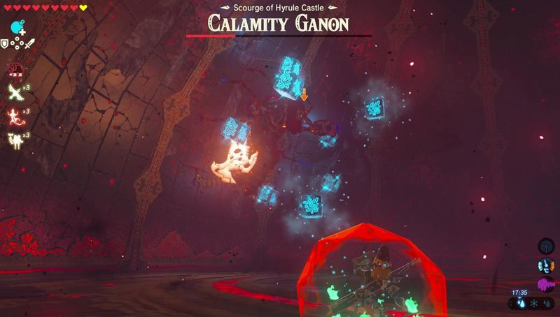 Zelda Breath of The Wild Calamity Ganon 3