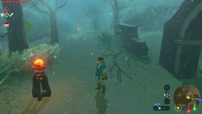 Petunjuk arah Lost Wood 1 Zelda Breath of The Wild