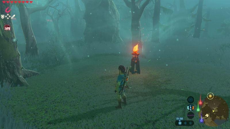 Petunjuk arah Lost Wood 2 Zelda Breath of The Wild