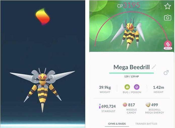 Pokemon Go Mega Evolve