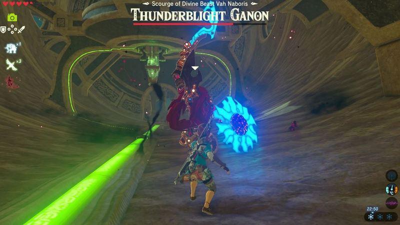 Zelda Thunder Blight Ganon Fase Pertama